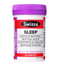 3 PACK OF Swisse Ultiboost Sleep 60 Tablets