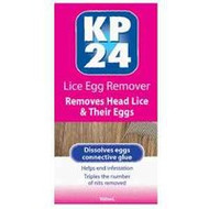 3 PACK OF Kp 24 Lice Egg Remover 100ml