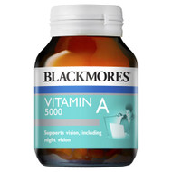 3 PACK OF Blackmores Vitamin A 5000 150 Capsules