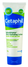 3 PACK OF Cetaphil Daily Advance Ultra Hydrating Lotion 226G
