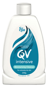 3 PACK OF Ego QV Intensive Moisturising Cleanser 250g