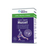 3 PACK OF Henry Blooms Green Lipped Mussel 60 Capsules