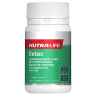 3 PACK OF Nutra Life Detox 30 Capsules