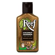 3 PACK OF Reef Oil Coconut Shimmer Sun Tan Oil Bronze Glow SPF 15 125ml