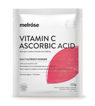 3 PACK OF Melrose Vitamin C Ascorbic Acid 125g