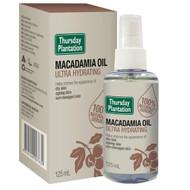 3 PACK OF Thursday Plantation Macadamia Oil Ultra Hydrating 125ml