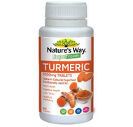 3 PACK OF Natures Way Superfoods 1000mg Tumeric 60 Tablets