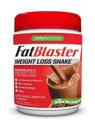 3 PACK OF Naturopathica FatBlaster Weight Loss Shake Chocolate 430g