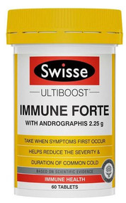 3 PACK OF Swisse Ultiboost Immune Forte 60 Tablets