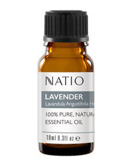 3 PACK OF Natio Happiness Pure Essential Oil Lavender 10ml
