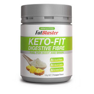 3 PACK OF Naturopathica FatBlaster Keto-Fit Digestive Fibre 100g