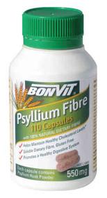 3 PACK OF Bonvit Psyllium Fibre 550G Capsules 110