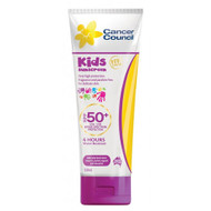 3 PACK OF Cancer Council Kids Sunscreen SPF50+ Tube 250ml