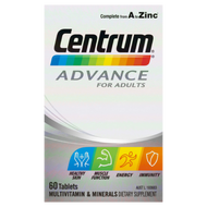 3 PACK OF Centrum Advance Tablets 60
