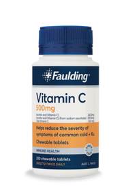 3 PACK OF Faulding Remedies Vitamin C 1000mg Chewable 150 Tablets