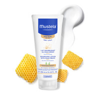 3 PACK OF Mustela Nourishing Lotion With Cold Cream 200ml