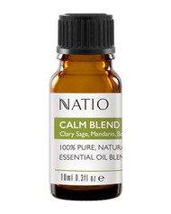 3 PACK OF Natio Happiness Essential Oil Blend Calm 10ml