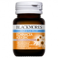 3 PACK OF Blackmores Echinacea Ace + Zinc 30 Tablets