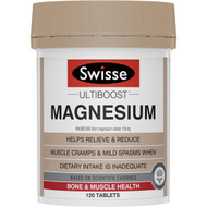 3 PACK OF Swisse Ultiboost Magnesium 120 tablets
