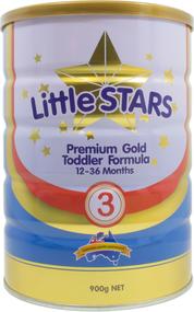 3 PACK OF Little Stars Premium Gold Toddler Formula Step 3