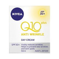 3 PACK OF Nivea Visage Anti Wrinkle Q10 Day Cream Spf30+ 50ml