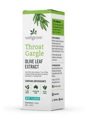 3 PACK OF Wellgrove Olive Leaf Throat Gargle Olive Leaf Extract 120ml