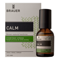 3 PACK OF Brauer Nervatona Calm Oral Spray 20Ml
