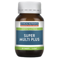 3 PACK OF Ethical Nutrients Super Multi Plus 30 Tablets