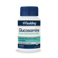 3 PACK OF Faulding Glucosamine Plus Chondroitin 60 Tablets