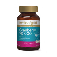 3 PACK OF Herbs Of Gold Cranberry 70000 50 Tablets