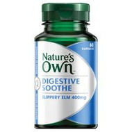 3 PACK OF Natures Own Digestive Soothe Capsules 60