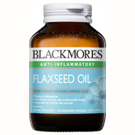 3 PACK OF Blackmores Flaxseed Oil 100 Capsules