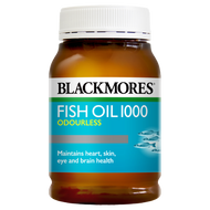 3 PACK OF Blackmores Fish Oil 1000 Odourless 200 Capsules