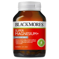 3 PACK OF Blackmores Super Magnesium+ 100 Tablets