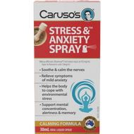 3 PACK OF Caruso's Stress and Anxiety Spray 30ml