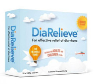 3 PACK OF DiaRelieve 10 Sachets