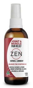 3 PACK OF Martin & Pleasance Zen Herbal Liniment Spray 100ml