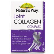 3 PACK OF Natures Way Joint Collagen Complex 60 Tablets