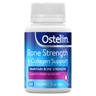 3 PACK OF Ostelin Bone Strength + Collagen 60 Tablets