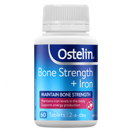 3 PACK OF Ostelin Bone Strength + Iron 60 Tablets