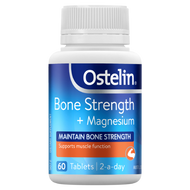 3 PACK OF Ostelin Bone Strength + Magnesium 60 Tablets