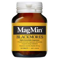 3 PACK OF Blackmores Magmin 500mg 100 Tablets