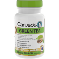 3 PACK OF Caruso's Green Tea 50 Tablets