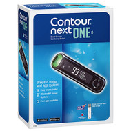 3 PACK OF Contour Next One Blood Glucose Monitor