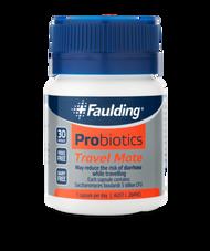 3 PACK OF Faulding Probiotics Travel Mate 30 Capsules