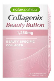 3 PACK OF Naturopathica Collagenix Beauty Button 1250mg 30 Tablets