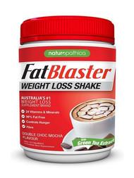 3 PACK OF Naturopathica Fatblaster Weight Loss Shake Double Choc Mocha 430g