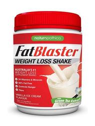 3 PACK OF Naturopathica FatBlaster Weight Loss Shake Vanilla 430g