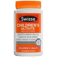 3 PACK OF Swisse Childrens Ultivite Multivitamin 120 Tablets