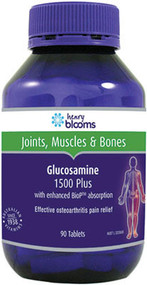 3 PACK OF Henry Blooms Glucosamine 1500 Plus 90 Tablets